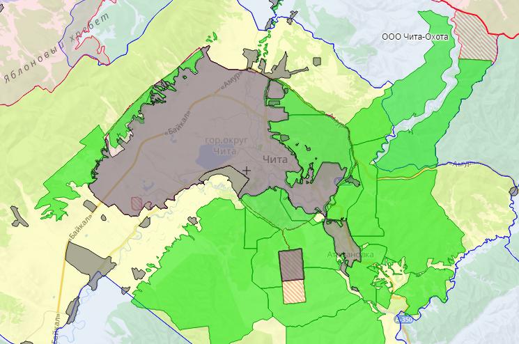 Создана интерактивная карта охотничьих угодий Забайкальского края