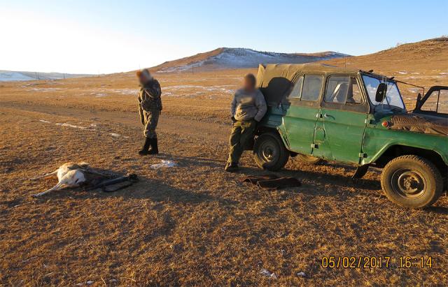 Опергруппа Даурского заповедника задержала браконьеров