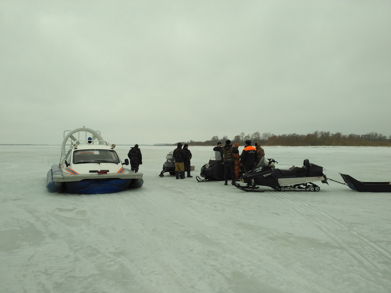 Природоохранный рейд на акватории Костромского водохранилища