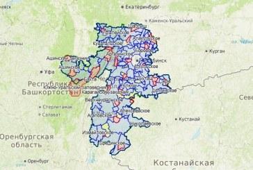 Добавлена карта охотничьих угодий Челябинской области
