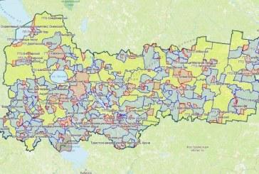 Карта охотника — Вологодская область