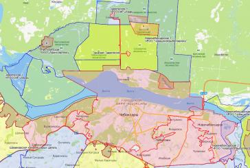 Обновление карты охотугодий Чувашской Республики