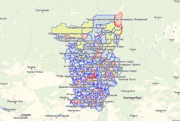 Обновление карты охотничьих угодий Пермского края