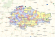 Карта охотника — Курская область