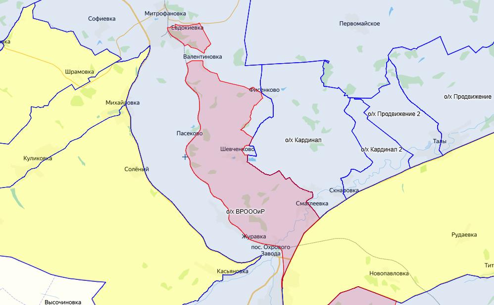 Зона запрета охоты в Кантемировском районе