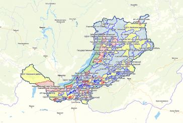 Карта охотника — Республика Бурятия