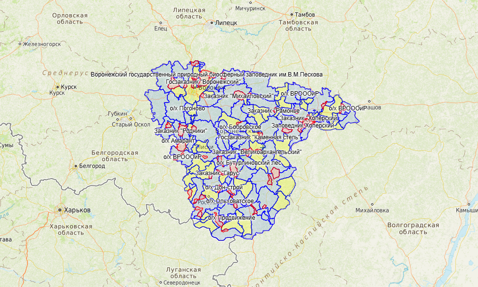 Новые зоны с запретом охоты в Воронежской области