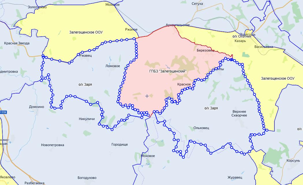 Уточнены границы охотугодий в Орловской области