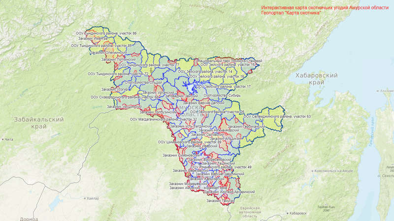 Масштабное обновление границ по Амурской области